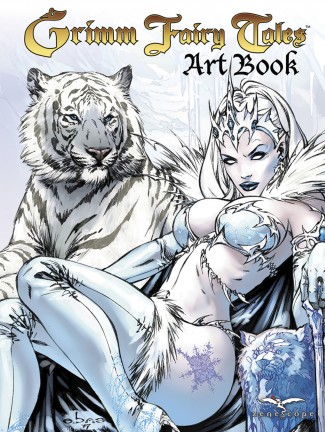 GRIMM FAIRY TALES COVER ART BOOK VOLUME 1 HARDCOVER