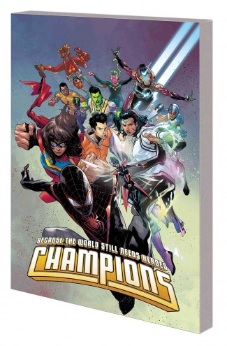 CHAMPIONS BY JIM ZUB VOLUME 1 BEAT THE DEVIL GRAPHIC NOVEL