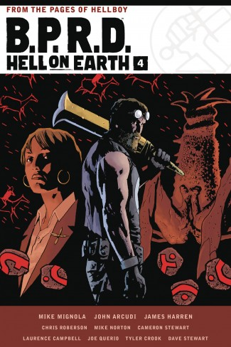 BPRD HELL ON EARTH VOLUME 4 HARDCOVER
