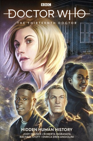 DOCTOR WHO THE 13TH DOCTOR VOLUME 2 HIDDEN HUMAN HISTORY GRAPHIC NOVEL