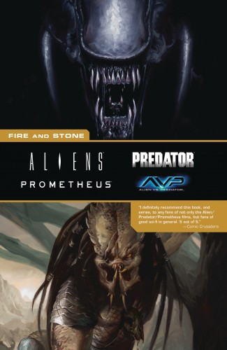 ALIENS PREDATOR PROMETHEUS FIRE AND STONE GRAPHIC NOVEL