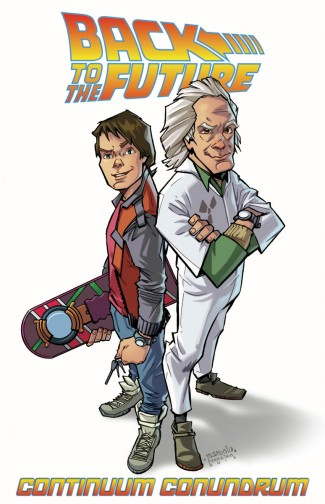 BACK TO THE FUTURE VOLUME 2 CONTINUUM CONUNDRUM GRAPHIC NOVEL