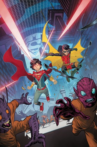 ADVENTURES OF THE SUPER SONS VOLUME 2 LITTLE MONSTERS GRAPHIC NOVEL
