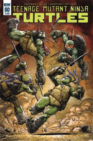 TEENAGE MUTANT NINJA TURTLES (2011 SERIES) #60