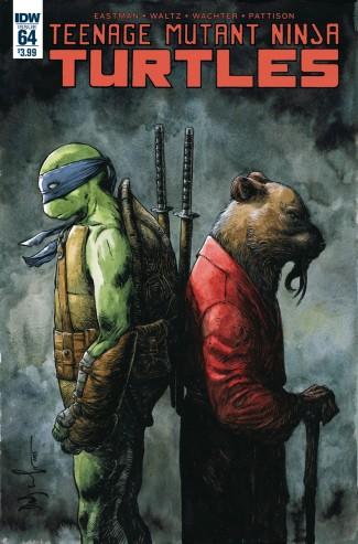 TEENAGE MUTANT NINJA TURTLES (2011 SERIES) #64
