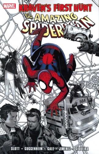 SPIDER-MAN KRAVENS FIRST HUNT GRAPHIC NOVEL