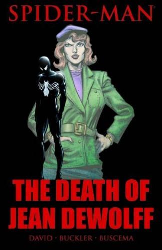 SPIDER-MAN THE DEATH OF JEAN DEWOLFF HARDCOVER