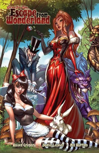GRIMM FAIRY TALES PRESENTS ESCAPE FROM WONDERLAND GRAPHIC NOVEL