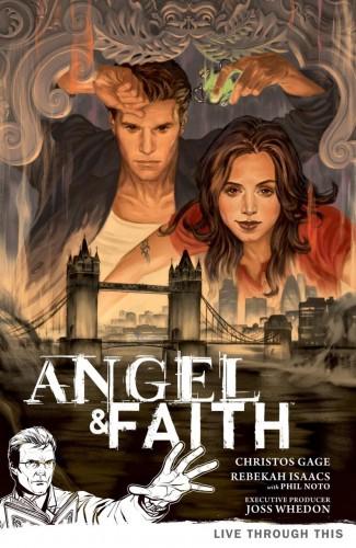ANGEL AND FAITH SEASON 9 VOLUME 1 LIVE THROUGH THIS GRAPHIC NOVEL