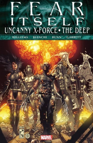 FEAR ITSELF UNCANNY X-FORCE DEEP HARDCOVER