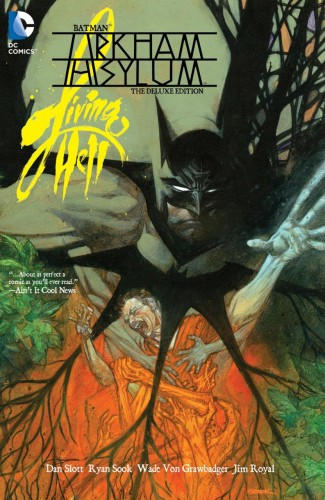 BATMAN ARKHAM ASYLUM LIVING HELL HARDCOVER