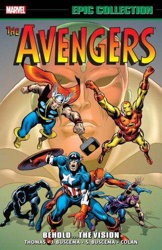 AVENGERS EPIC COLLECTION BEHOLD VISION GRAPHIC NOVEL