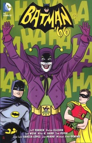 BATMAN 66 VOLUME 4 GRAPHIC NOVEL