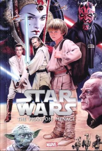 STAR WARS EPISODE I PHANTOM MENACE HARDCOVER
