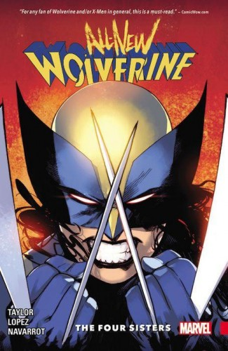 ALL NEW WOLVERINE VOLUME 1 FOUR SISTERS GRAPHIC NOVEL