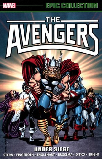 AVENGERS EPIC COLLECTION UNDER SIEGE GRAPHIC NOVEL