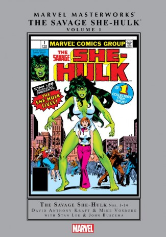 MARVEL MASTERWORKS SAVAGE SHE-HULK VOLUME 1 HARDCOVER
