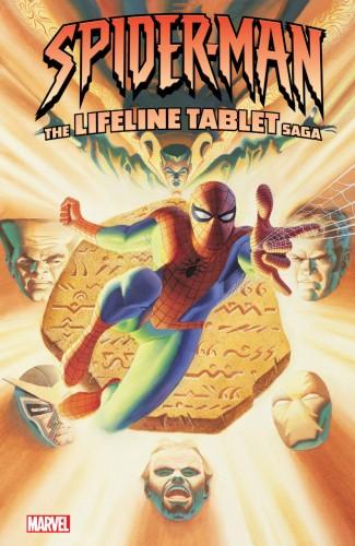SPIDER-MAN LIFELINE TABLET SAGA GRAPHIC NOVEL