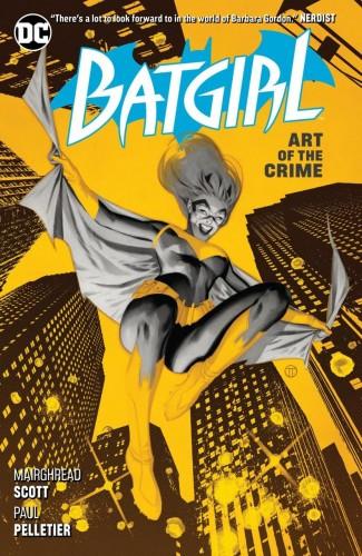 BATGIRL VOLUME 5 ART OF THE CRIME GRAPHIC NOVEL