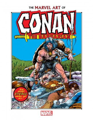 MARVEL ART OF CONAN THE BARBARIAN HARDCOVER