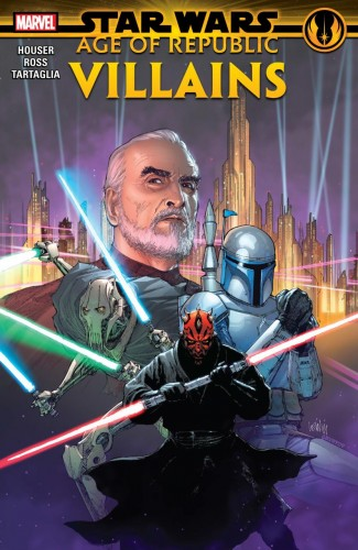 STAR WARS AGE OF REPUBLIC VILLAINS GRAPHIC NOVEL