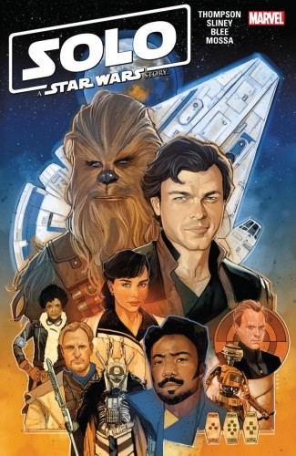 SOLO A STAR WARS STORY ADAPTATION GRAPHIC NOVEL