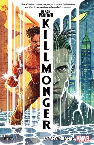 BLACK PANTHER KILLMONGER BY ANY MEANS GRAPHIC NOVEL