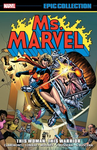 MS MARVEL EPIC COLLECTION THE WOMAN WHO FELL TO EARTH GRAPHIC NOVEL
