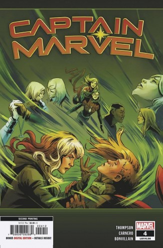 CAPTAIN MARVEL #4 (2019 SERIES) 2ND PRINTING