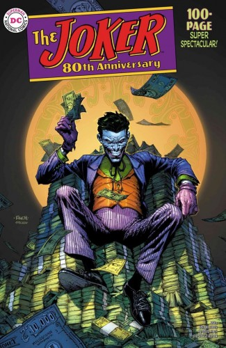 JOKER 80TH ANNIVERSARY 100 PAGE SUPER SPECTACULAR #1 1950S DAVID FINCH VARIANT
