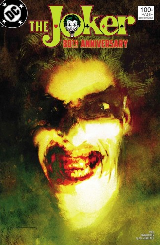 JOKER 80TH ANNIVERSARY 100 PAGE SUPER SPECTACULAR #1 1980S BILL SIENKIEWICZ VARIANT