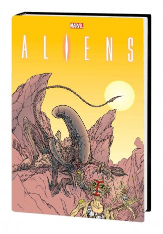 ALIENS THE ORIGINAL YEARS OMNIBUS VOLUME 2 MENDOZA DM VARIANT HARDCOVER