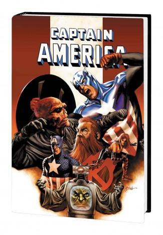 CAPTAIN AMERICA OMNIBUS THE DEATH OF CAPTAIN AMERICA DM VARIANT HARDCOVER