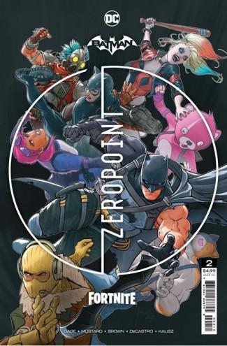 BATMAN FORTNITE ZERO POINT #2 2ND PRINTING