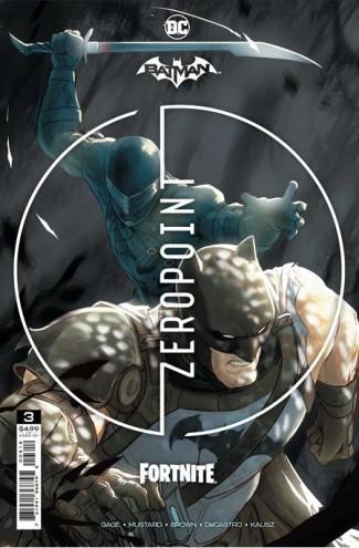 BATMAN FORTNITE ZERO POINT #3 2ND PRINTING