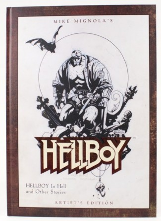 MIKE MIGNOLA HELLBOY ARTIST EDITION HARDCOVER SIGNED NUMBERED & REMARQUED BY MIKE MIGNOLA