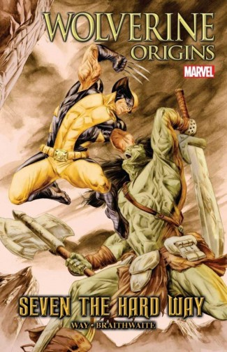 WOLVERINE ORIGINS SEVEN THE HARD WAY HARDCOVER
