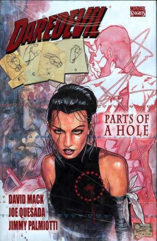DAREDEVIL ECHO PARTS OF A HOLE HARDCOVER