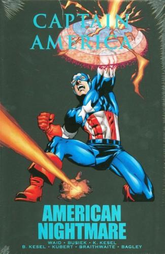 CAPTAIN AMERICA AMERICAN NIGHTMARE HARDCOVER