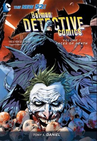 BATMAN DETECTIVE COMICS VOLUME 1 FACES OF DEATH GRAPHIC NOVEL