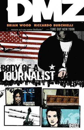 DMZ VOLUME 2 BODY OF A JOURNALIST GRAPHIC NOVEL