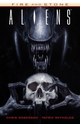 ALIENS FIRE AND STONE GRAPHIC NOVEL