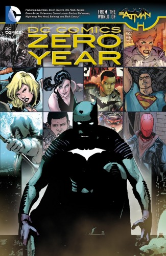 DC COMICS ZERO YEAR HARDCOVER