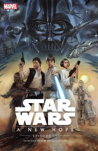 STAR WARS EPISODE IV A NEW HOPE HARDCOVER