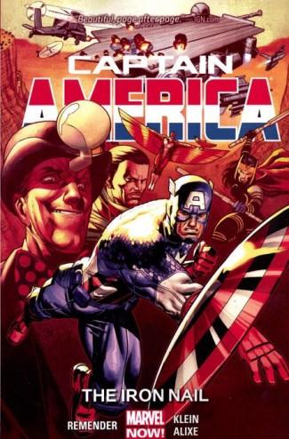 CAPTAIN AMERICA VOLUME 4 IRON NAIL GRAPHIC NOVEL
