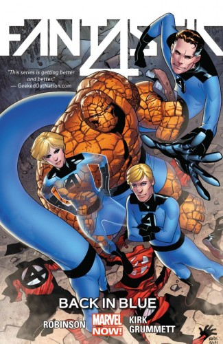 FANTASTIC FOUR VOLUME 3 BACK IN BLUE GRAPHIC NOVEL