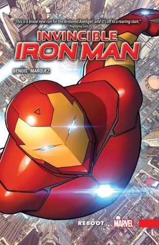 INVINCIBLE IRON MAN VOLUME 1 REBOOT HARDCOVER