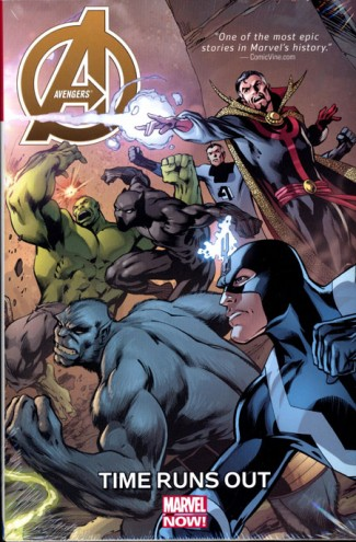 AVENGERS TIME RUNS OUT HARDCOVER