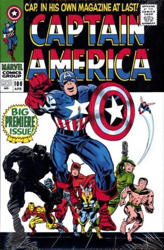 CAPTAIN AMERICA OMNIBUS VOLUME 1 HARDCOVER