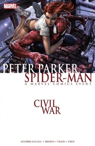 CIVIL WAR PETER PARKER SPIDER-MAN GRAPHIC NOVEL